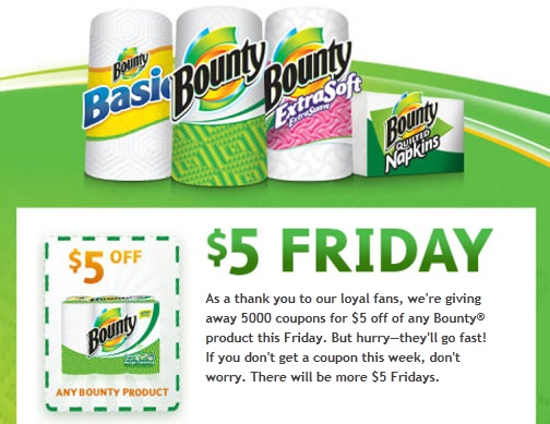 Bounty is an online store for Bounty paper towels. Thru this website you can order a variety of their paper towel products like Bounty, Bounty Basic, ExtraSoft, Quilted Napkins and Huge Roll. The site also offers Select-a-Size paper towels.