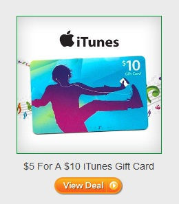 Saveology: $5 For A $10 iTunes Gift Card (First Time Buyers