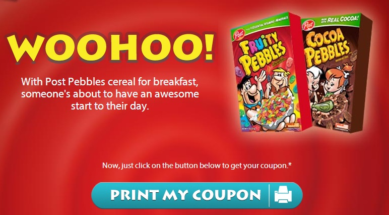 Fruity pebbles coupon 2018