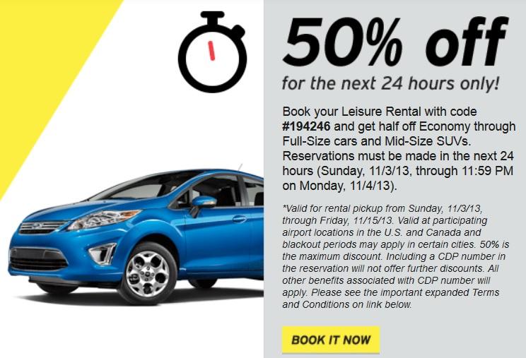 Hertz: Save 50% Off Car & SUV Rentals   Kollel Budget