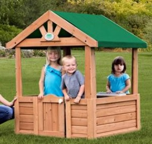 Walmart Backyard Discovery Cozy Wooden Playhouse Only 6783 Free