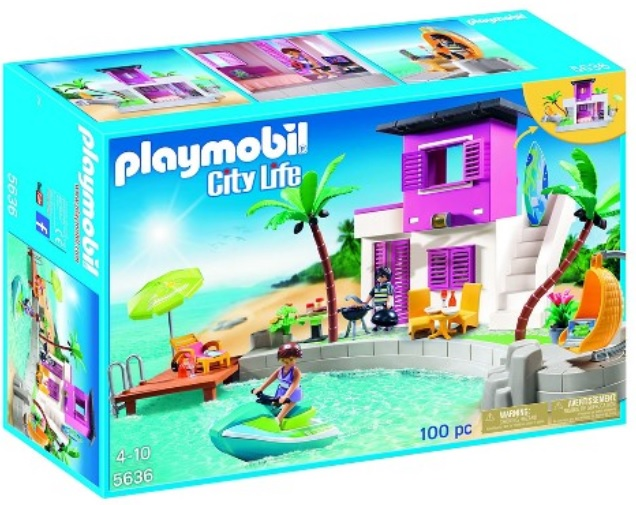 hurry target playmobil luxury beach house only. Black Bedroom Furniture Sets. Home Design Ideas