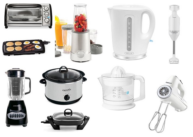 macy s has select small kitchen appliances on sale for plus