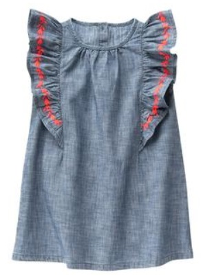 a98dadc5ad74 im1 UPDATE  Dead! Crazy8 has this Chambray Ruffle Dress ...