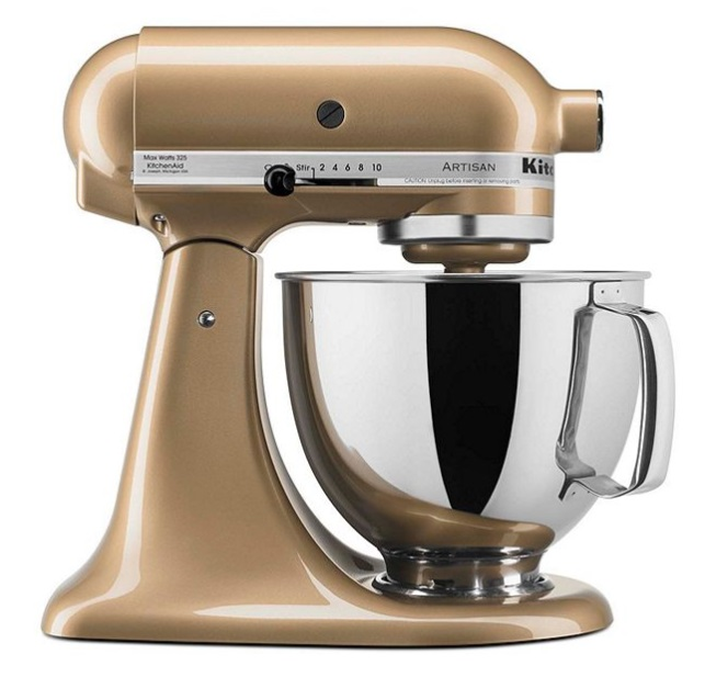 KitchenAid Artisan Gold Shimmer Stand Mixer Only $189.97 + ...