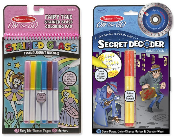 Melissa & Doug On The Go Activity Book Or Coloring Pad Only $1.98 + Free  Shipping - Or $3.19 For 2 (reg. $4.99 Each)!! - Kollel Budget