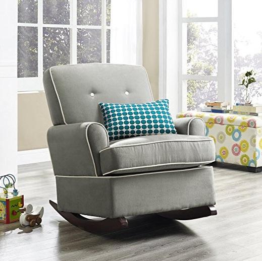 Terrific Walmart Baby Relax Tinsley Nursery Rocker Chair Gray Only Ibusinesslaw Wood Chair Design Ideas Ibusinesslaworg