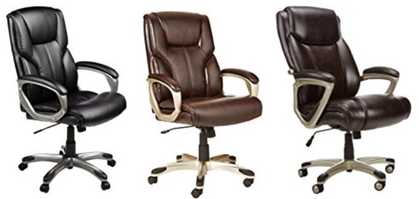 AmazonBasics High-Back Executive Chair Only $79 99 / Big