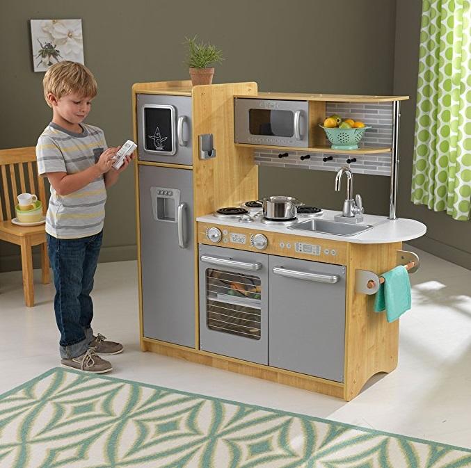 amazon: kidkraft uptown natural kitchen only $74.99 + free