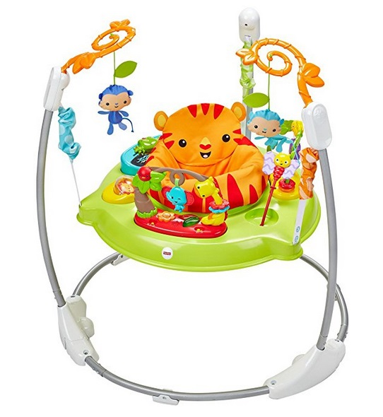 fcac5f2ca29f Amazon  Fisher-Price Roarin  Rainforest Jumperoo Only  64 + Free ...