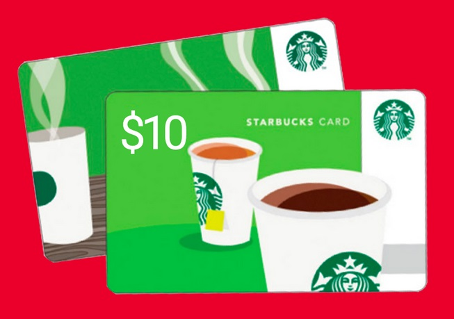 Free $10 Starbucks Gift Card When You Sign Up To Recive Text (spam