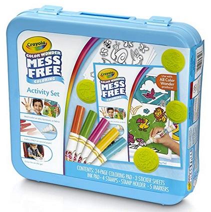 Crayola Color Wonder Mess Free Coloring Activity Set, Animals Arts ...
