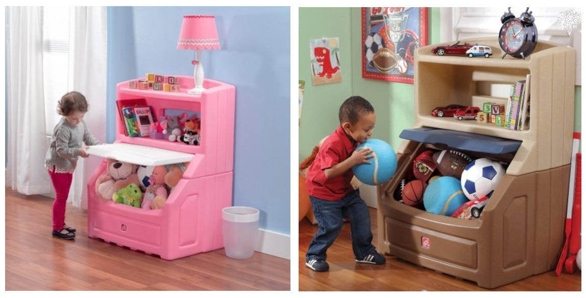 Walmart Step2 Lift And Hide Bookcase Storage Chest Only