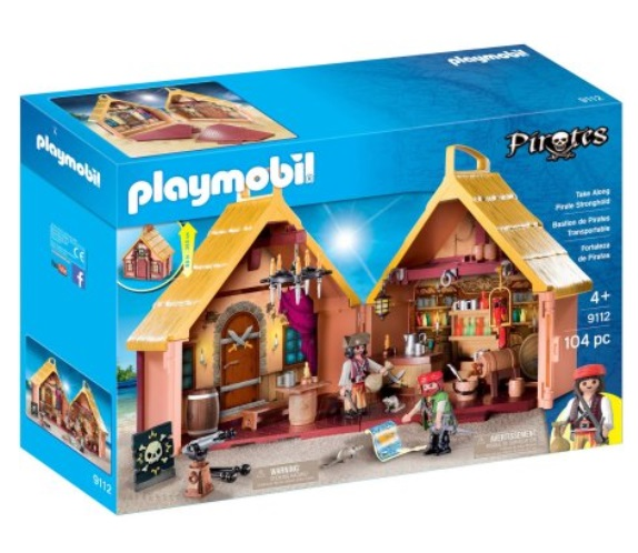 Walmart Playmobil Take Along Pirate Stronghold Only 17