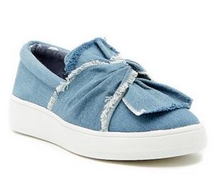 967ced1c937 Steve Madden Girls Knotty Slip-On Sneaker Only $26.97 From ...
