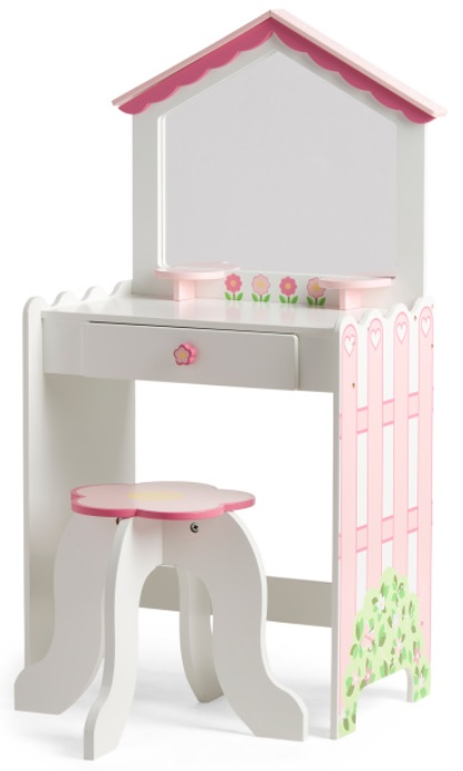 Awesome Tj Maxx Dollhouse Vanity Stool Set Only 59 99 Kollel Beutiful Home Inspiration Xortanetmahrainfo