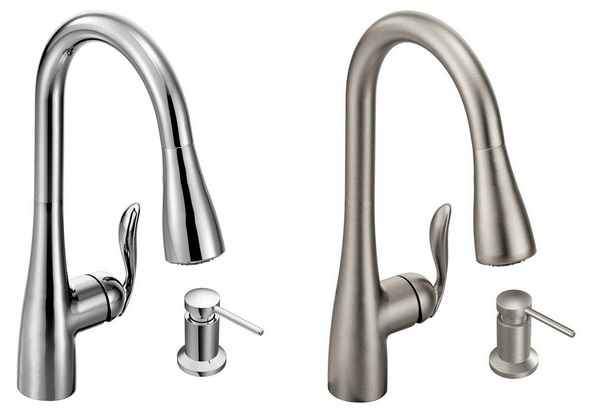 30% Off Moen Arbor Single-Handle Pull-Down Sprayer Kitchen ...