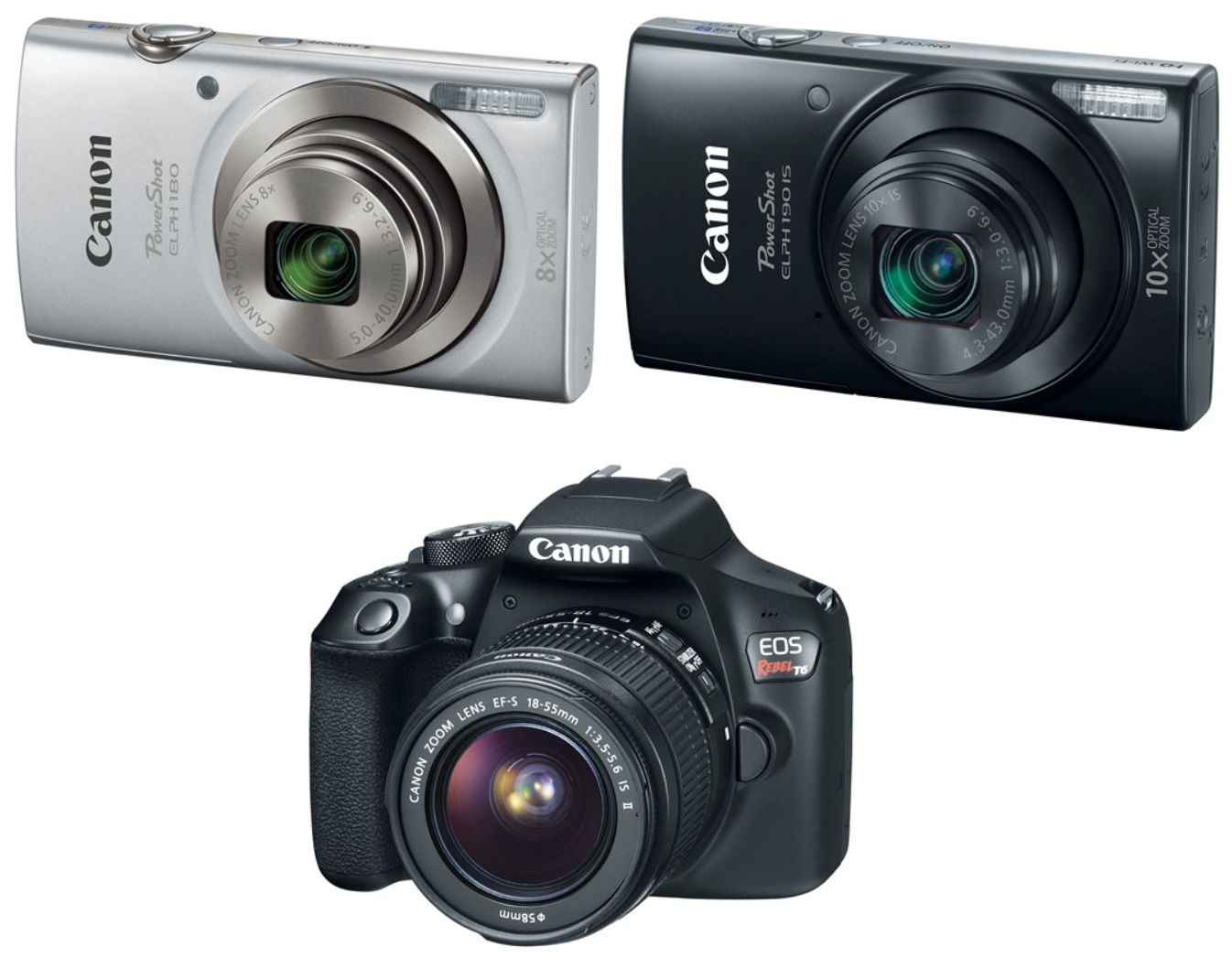 July 4th Canon Refurbished Camera Sale – PowerShot Elph 180