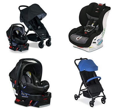 Today Only Amazon Save On Select Britax Car Seats And Strollers