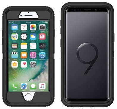 hot sale online a3995 3bbe6 Walmart: OtterBox Defender Series Cases for iPhone 8/7, Galaxy S9 ...