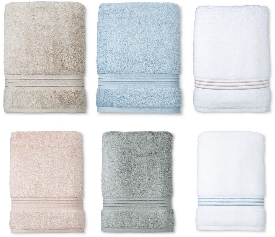 Spa Solid Fieldcrest Bath Towels Only 7 79 Free