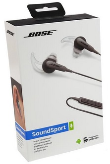 ccb7d5eb57f Bose SoundSport In-Ear Headphones – Charcoal – Samsung & Android Devices  Only $39.99 + Free Shipping!!