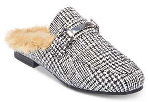75bb3b83ae8 Steve Madden Women's Khloe Faux-Fur Tailored Mules Only $36.13 From ...