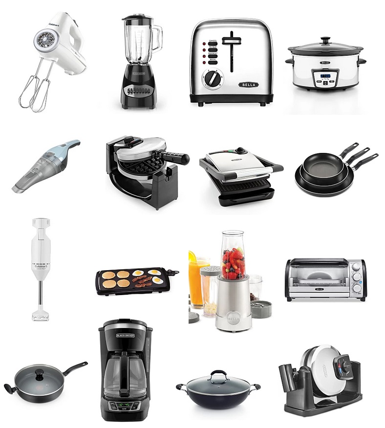 Black Decker Bella And Other Small Kitchen Appliances More Only 9 99 After Rebate From Macy S Free Shipping Kollel Budget