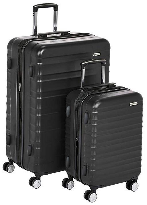 ea3f6f9c8 AmazonBasics Premium Hardside Spinner Luggage with Built-In TSA Lock Only  $88.29 + Free Shipping