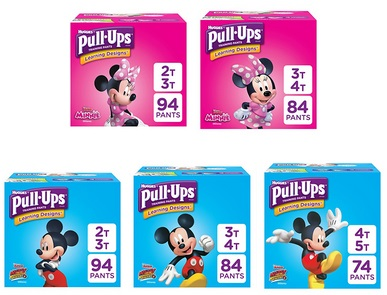 Coupon For 25% Off Pull-Ups From Amazon (94-Count 2T-3T Pull