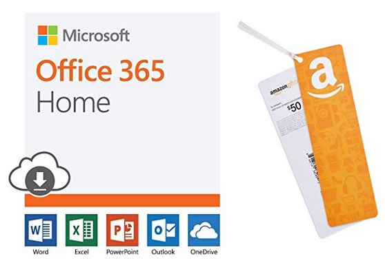 Microsoft Office 365 Home | 12-month subscription PC/Mac Download +