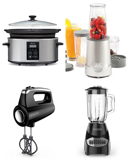 Black & Decker Hand Mixer, Blender or Bella Slow Cooker ...