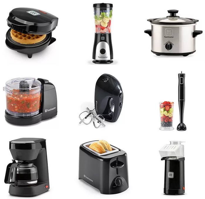 Hot Price Get 5 Toastmaster Small Kitchen Appliances Blender Hand Mixer Slow Cooker More Only 10 70 After Rebate Get 15 Kohl S Cash Kollel Budget